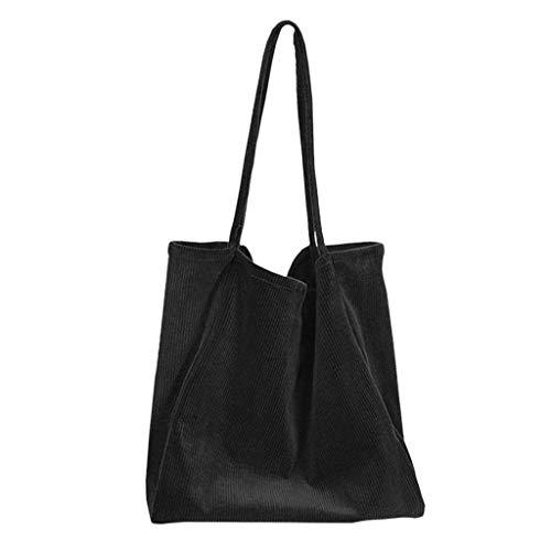 LHWY Bolso de hombro hueco de la moda de la mujer Cien bolsos de lona Bolso informal Compras