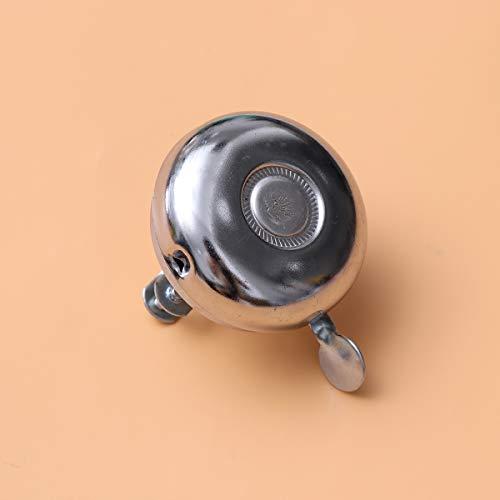LIOOBO Bicycle Bell Metal Bike Bell Ring Classic Bicycle Bell Handlebar Ring Horn Alarm Warning Bell for Adults Men Women Kids Bikes