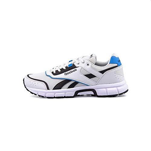 Reebok Royal Run Finish, Zapatillas de Running Unisex Adulto, Multicolor True Grey Black Cyan White 000, 44 EU