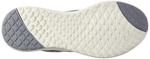 adidas Women's Edge Lux 3 Running Shoe, grey/cloud white/silver metallic, 8.5 M US 3