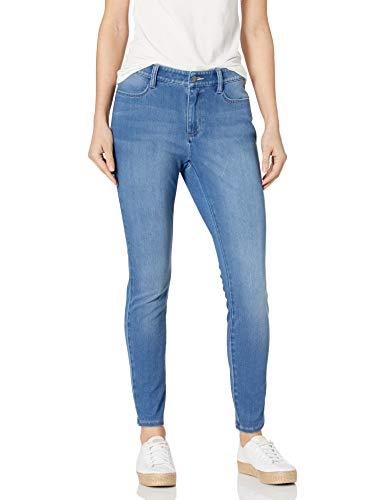 Amazon Essentials Standard Skinny Stretch Knit Jegging Leggings-Pants, Light Wash, US 10 (EU M-L)