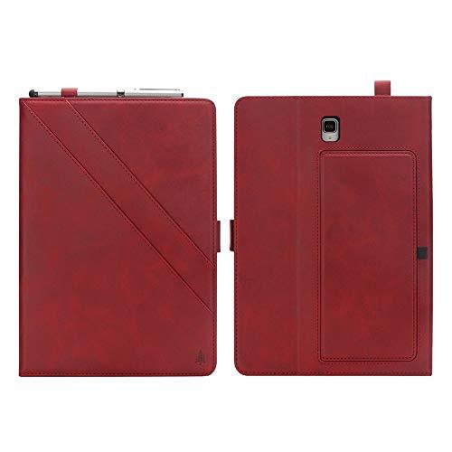 weichunya For Samsung Galaxy Tab 10.5 Pulgadas S4 2018 SM-T830 / T835 Superior de la PU del Doble del Cuero del Soporte de la Tableta Caso con Auto de sueño/vigilia de la Cubierta Completa
