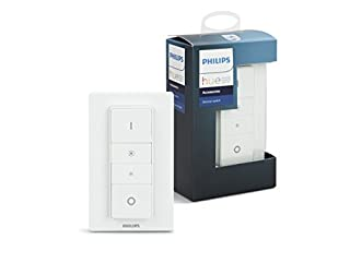 Philips Hue 929001173762 Smart Wireless Dimmer Switch with Remote, Installation-Free, Exclusive for Philips Hue Smart LED Light Bulbs (B0769L5QG5)   Amazon price tracker / tracking, Amazon price history charts, Amazon price watches, Amazon price drop alerts