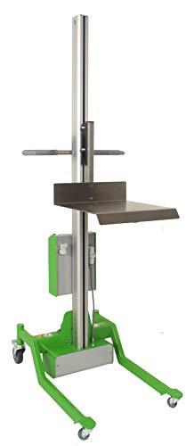 EXPRESSO Hebelift mit Edelstahl-Plattform zum leichten Transportieren & Heben von Lasten/Nutzlast max. 70 kg/lift2move basic