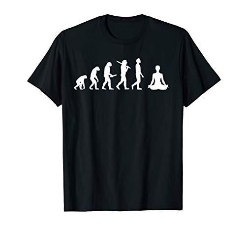 Yoga Evolution Geschenk für Yogis & Yogini T-Shirt