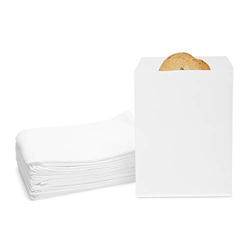 Greaseproof Paper Bags White 75 x 5 In 200 Pack