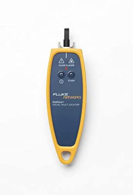 Fluke Networks VISIFAULT Visual Fault Locator Fiber Cable Continuity Tester with 2.5mm Universal Adapter