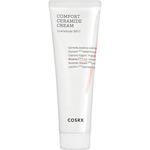 COSRX  Balancium Comfort Ceramide Cream, 2.82 fl oz, Rafforzare la barriera cutanea, Crema leggera, Idratante, Lenire