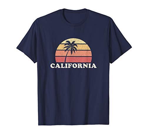 California Vintage T Shirt Retro 70s Throwback Tee Design