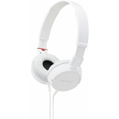Sony MDR-ZX100 White Fashionable overhead monitor headphone mdrzx100w