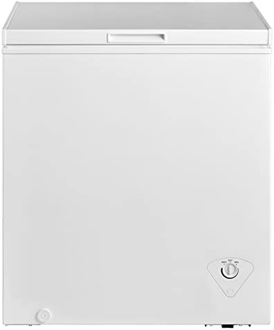 midea MRC050S0AWW Chest Freezer 5 0 Cubic Feet White product image