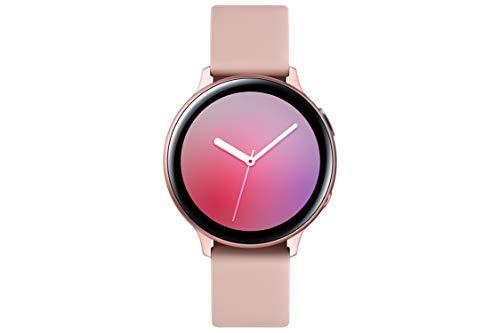 Samsung Galaxy Watch Active 2 (Bluetooth, 44 mm) - Gold, Aluminium Dial, Silicon Straps