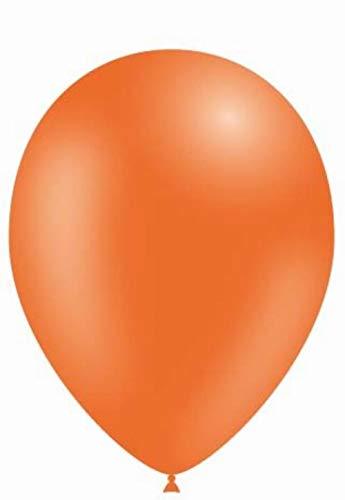 Ballon orange Ballon Taille 12 (29 cm) par 100