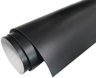 "CVANU 24""x100"" Black Matte Vinyl Car Wrap Sheet Roll Film Sticker Decal"