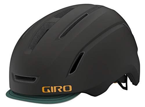 Giro Caden 2021 - Casco para bicicleta (LED, 59-63 cm), color negro y verde