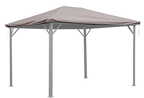 QUICK STAR Schutzhülle Wasserdicht 3x3,6m für Stoff und Hardtop Pavillon Ersatzdach Abdeckung