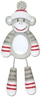 Grantwood Technology Personalized Christmas Ornaments Child-Sock Monkey/Monkey Ornament/Sock Monkey Ornament/Ornament Monkey