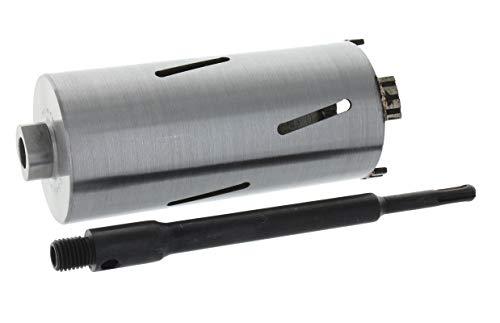 Diamant Bohrkrone SDS-plus lang (200mm) Aufnahme Nutzlänge 180 mm Ø 62 mm Betonbohrkrone Kernbohrer