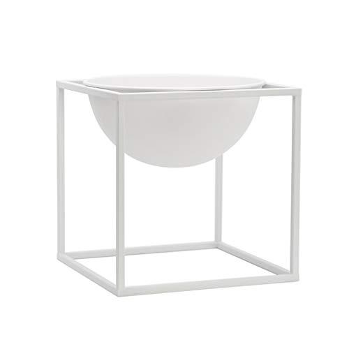 GF Support à Fleurs pour Bureau Moderne et Minimaliste, pour Salon, Balcon, Pot de Fleurs créatif en Pot de Bureau, Deux Couleurs au Choix