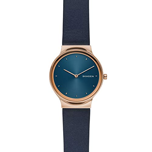 Skagen Women's SKW2706 Analog Display Analog Quartz Blue Watch