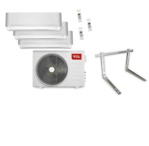 Unbekannt Trio Split-Klimaanlage 27.000 BTU A++/A+ ohne Quick Connection mit Wandhalterung