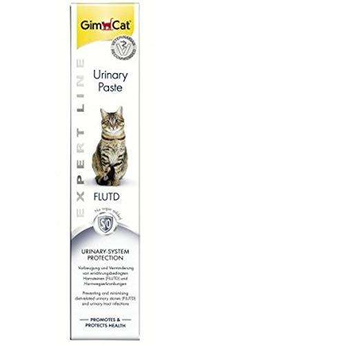 Gimcat Urinary Pasta para Gatos, Malta Infecciones Tracto Urinario, Cálculos Urinarios, Estruvita,...