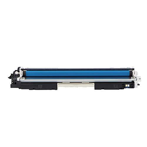 AXAX Cartucho de tóner compatible CF350A para HP CF350A de repuesto para HP Color Laserjet Pro CP1025 1025NW MFP M176N, artículos de papelería para el hogar, color cian