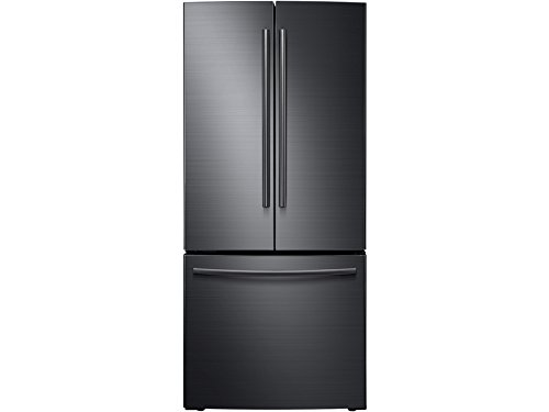 SAMSUNG RF220NCTASG / RF220NCTASG/AA / RF220NCTASG/AA 22 Cu. Ft. Black Stainless French Door Refrigerator