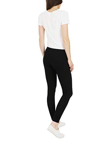 FM London Casual leggings, Negro, XL para Mujer (3-Pack)