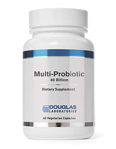 Douglas Laboratories - Multi-Probiotic 40 Billion - Provides Probiotics and Prebiotics to Support Gut Microflora and Immunity - 60 Capsules