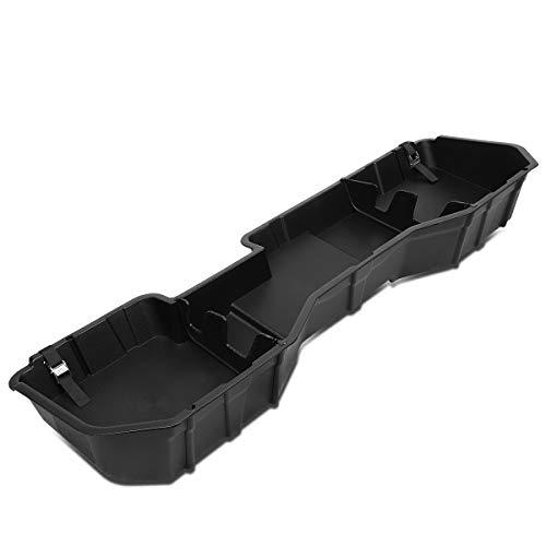 Rear Underseat Under Seat Tool Storage Organizer Box Tray Replacement for Chevy Silverado GMC Sierra 14-19