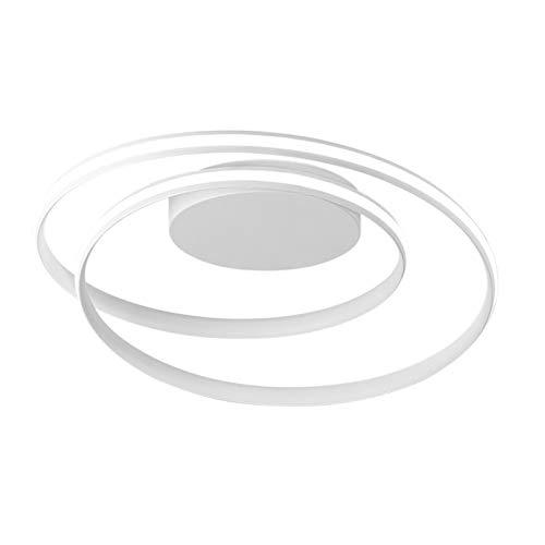 Lampadario Camera da Letto Moderno,Lampadari LED Soffitto A Spirale,Lampadario Design Metallo Sala da Pranzo Camera da Letto Sospensione Lampadari per Soggiorno Illuminazione 46X12cm,Whitelight