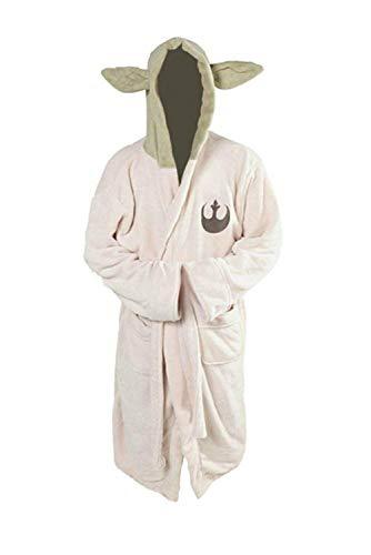 Disfraz de maestro para adulto de película cosplay de forro polar con capucha y orejas de Halloween Carnaval