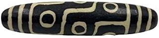 Grande pietra Dzi con 9 occhi (7,2 cm) perla cielo in agata – Tibet Asien Lifestyle