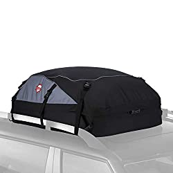 Sailnovo Dachbox, 580L Faltbare Auto Dachkoffer Gepäckbox Wasserdicht Tragbar Dachboxen Dachgepäckträger Tasche für Reisen und Gepäcktransport, 20 Kubikfuß, Schwarz