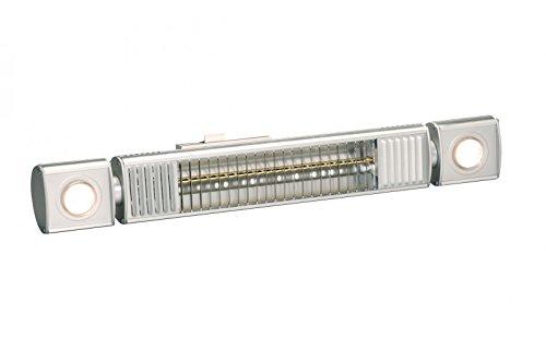 Infrarot Heizstrahler Ultra Low Glare Term2000 IP65 L&H 2000 Watt Wärmeleistung mit Licht