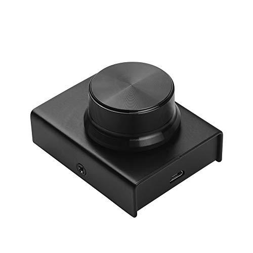 Muslady Ajustador de Control de Volumen de Audio USB Admite la Función de Silencio con Cable USB para Sistemas Win XP/Vista / 7/8/10 / Mac
