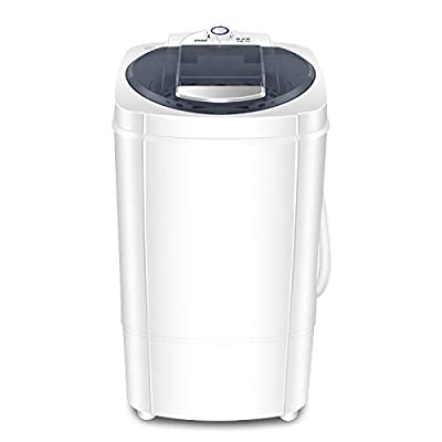 CLING Mini Portable Washing Machine with Spin Dryer, 21lbs Compact for Apartment, Dorms, RVs, Camping and More
