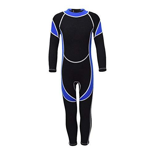 Febelle Trajes de Neopreno de 2.5 mm Trajes de Buceo para niños Niñas Surfistas Guardias Ropa para jóvenes natación