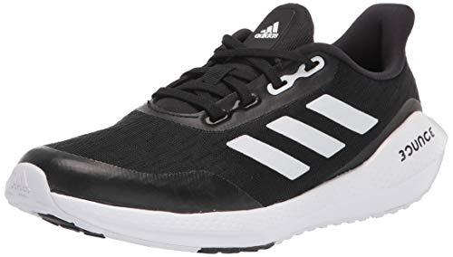 adidas EQ Running Shoe, Black/White/Black, 6.5 US Unisex Big Kid