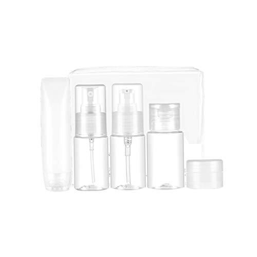 Minkissy 1 Set Cosmétique Vaporisateur Set sous Emballage Bouteille Maquillage Liquide Conteneur Distributeur Bouteille pour Voyage Voyage Liquide 30 Ml