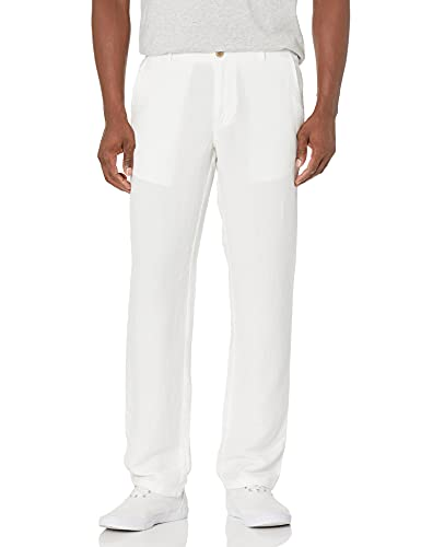 * Best Price * White Linen Pants by Amazon Essentials, cool and lightweight