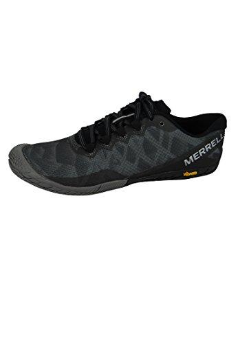 Merrell Women's Vapor Glove 3 Sneaker, Black/Silver, 10 M US