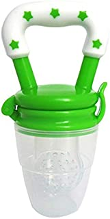 Green color Fresh Food and Fruits Baby Feeding Nipple Pacifier