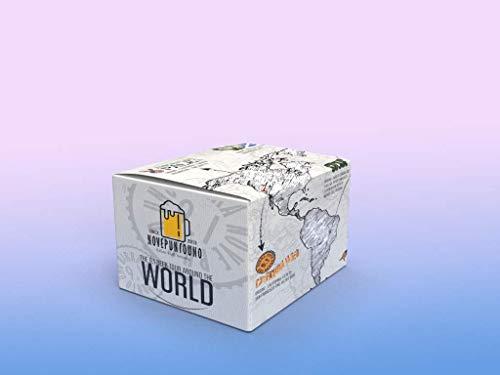 Box Giro del mundo en 8 cervezas de 33 cl
