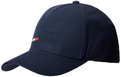 Tommy Jeans Herren TJM Logo Baseball Cap, Blau (Blue Cbk), One Size (Herstellergröße:OS)