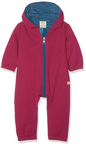 loud + proud Baby-Mädchen Wasserabweisender, wattierter Overall Schneeanzug, Violett (Orchid or), 80