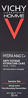 Vichy Homme Hydra Mag C+ Face Moisturizer for Men with Pure Vitamin C, 1.69 Fl. Oz.