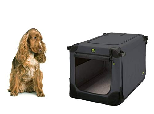 Maelson Soft Kennel Hundebox - Anthrazit - 72 x 51 x 51 cm