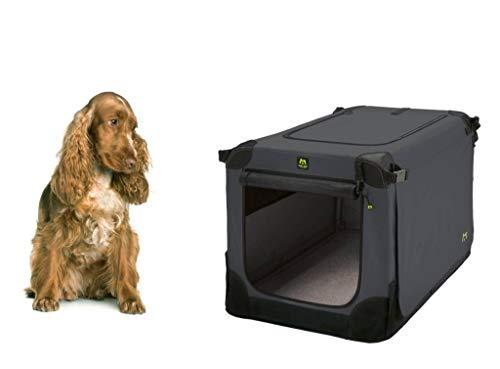 Maelson Soft Kennel Hundebox - Anthrazit - 72 x 51 x 51 cm